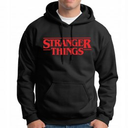 STRANGER THINGS BLUZA serial logo-c/r M