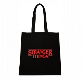 STRANGER THINGS LOGO CZERWONE TORBA
